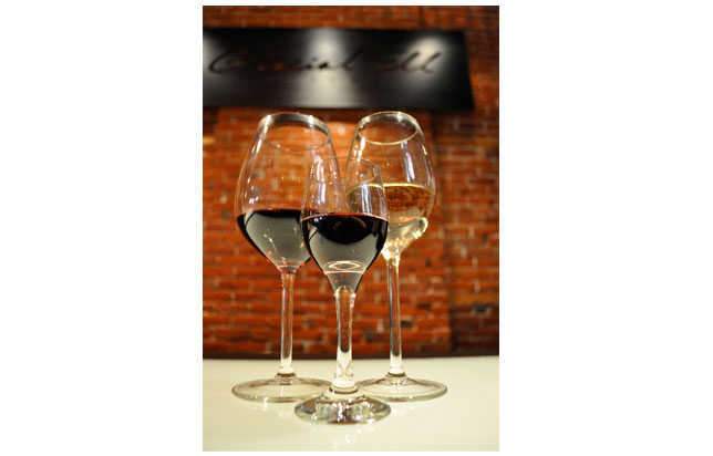 photo of wine glasses